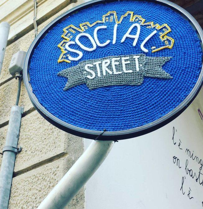 INSEGNA SOCIAL STREET (MONZA)