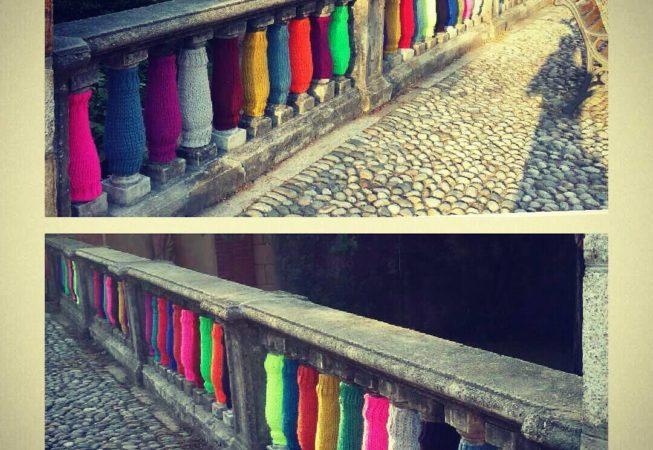 Consulenza. In questo caso il lavoro è stato realizzato dalle 'tricottine di Ameno', grazie alla nostra consulenza .